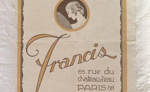 藤沢 ヴィンテージショップ アンティークショップ ヨーロッパ フランス イギリス パリ ロンドン ヘアピースカタログ