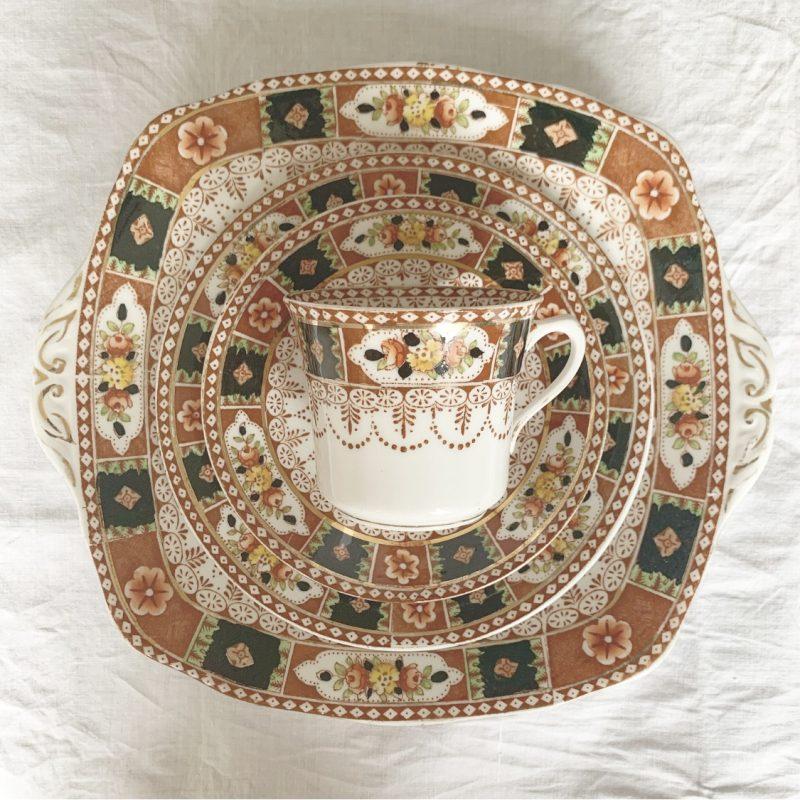 藤沢 ヴィンテージショップ アンティークショップ ヨーロッパ フランス イギリス パリ ロンドン カップ&ソーサー 皿 小皿